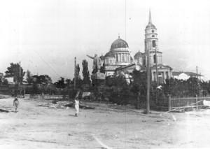 Вид на храм в 30-е годы