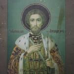 Икона святого Благоверного великого князя Александра Невского
