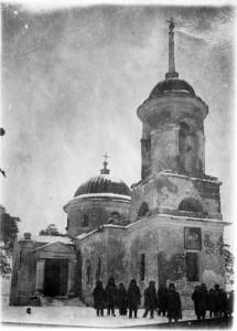 Храм в Ивановке. 1949 год