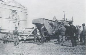 В послевоенные годы в пустующем здании разместилась мастерская машинно-тракторной станции (МТС).
